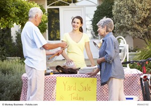 Host a Yard Sale Before You List Your Home
