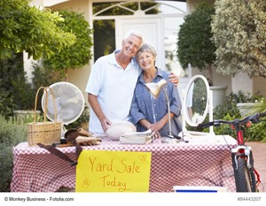 Host a Yard Sale Before You Buy a Residence