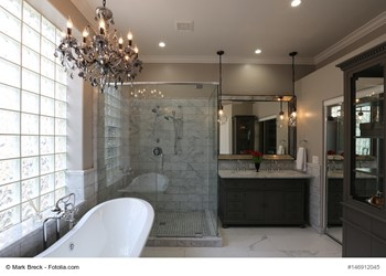 Create An Upscale Bathroom On A Budget