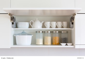 How To Keep Kitchen Cabinets Organized