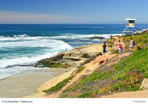 Many California Homes Are Located Near Nice Beaches