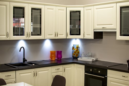 Want to Improve Your Workspace? Add LEDs Under Your Cabinets