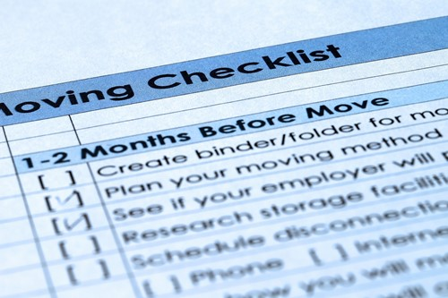 Help Reduce the Stress of Moving by Creating a Checklist