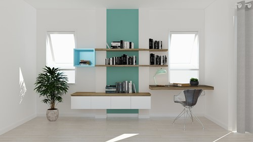 Floating Shelves Offer Your Space a Streamline Look