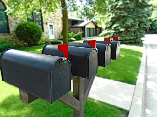 Holiday Cheer: Sharing a Smile with Your Mail Carrier