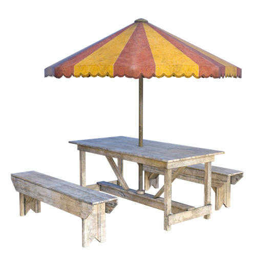 Kick Back in Style: Creating an Umbrella Table for Your Deck