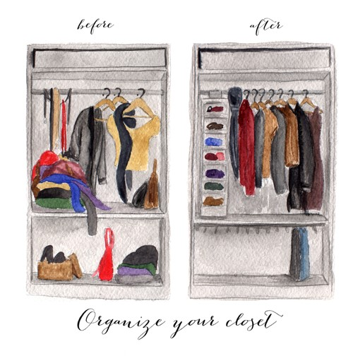 Ways to Organize a Messy Closet