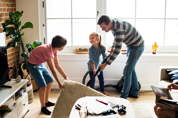 Getting Your Kids on the Tidy Up Bandwagon