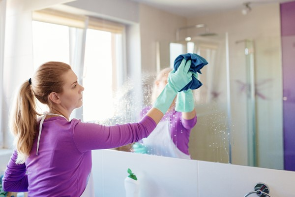 How to Clean Your Bathroom a Little More Deeply