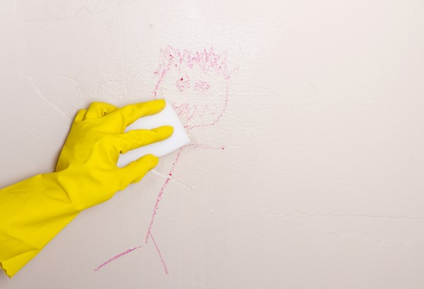 Tips for Removing Crayon From Your Walls