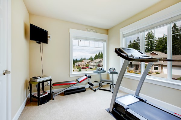 Constructing a Home Fitness Center