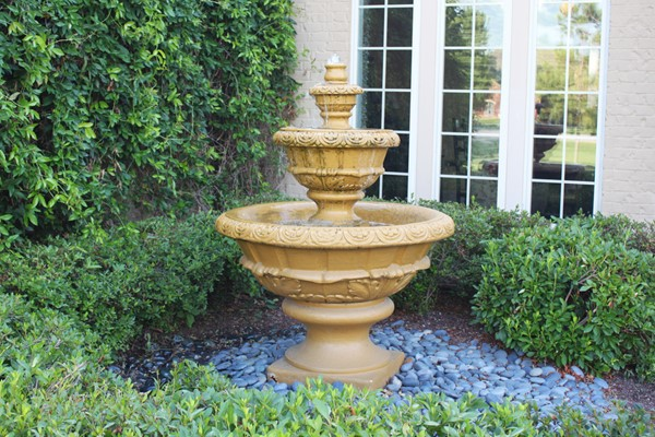 Creating a Luxury Outdoor Area With a Water Fountain