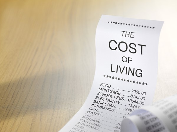 Calculate the Cost of Living Index