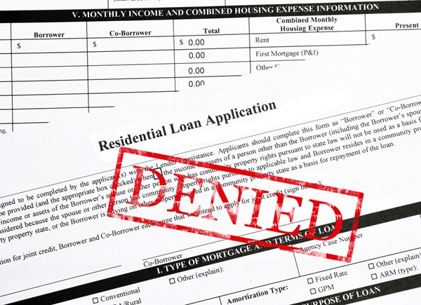 Reasons Your Mortgage Application Could Get Rejected