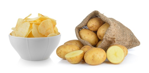 Making Healthy Potato Chips