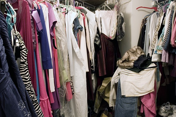 What to do About That Messy Closet