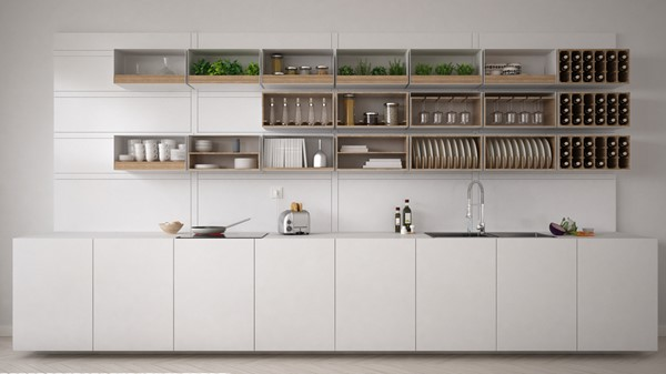 Have You Looked At Open Shelving?