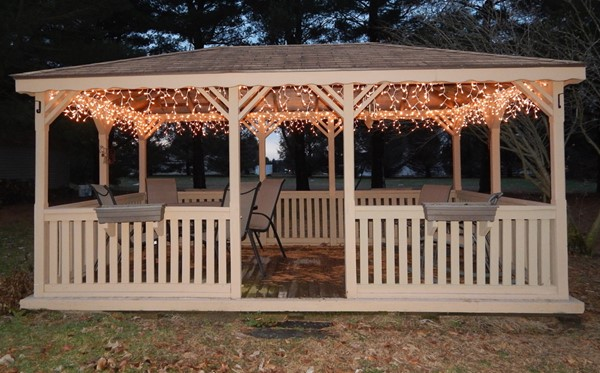 Ideas to Light up Your Gazebo