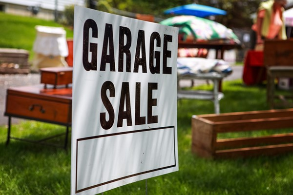 Planning for a Garage Sale
