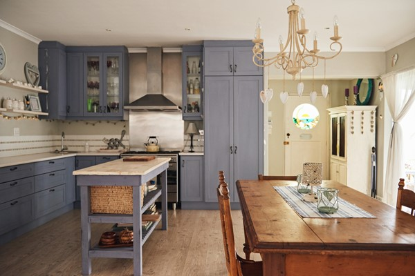 Steps to A Country Style Kitchen - Nile Morin