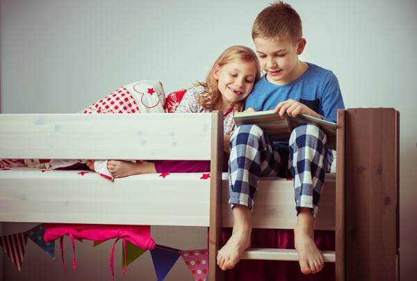 Easy Ways for Kids to Share Bedrooms