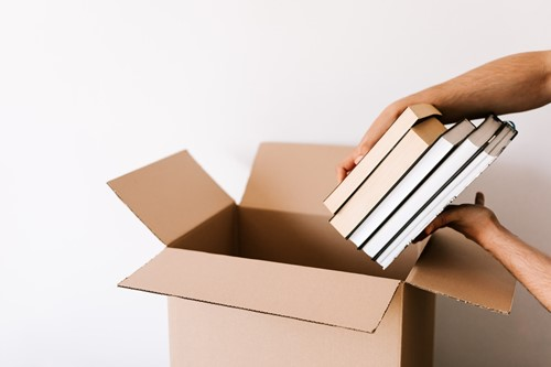 Expert Advice for Packing & Moving Books