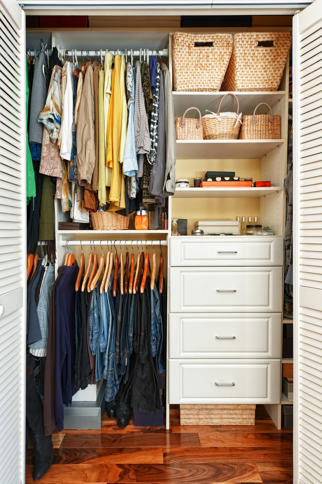 Keeping Your Closet Organized Can Be A Huge Headache. Thereu0027s So Many  Components To A Closet That It Can Be Hard To Tell Where To Start In The  Space To ...